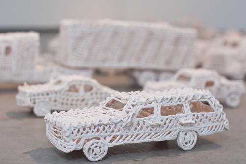 Susan Graham ceramic porcelain cars vehicles